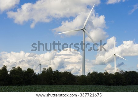 wind energy in a campaign
