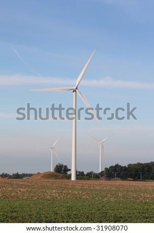 Wind Farm - stock photo