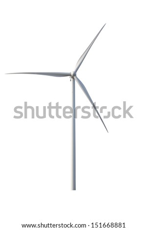 wind generator on a white background