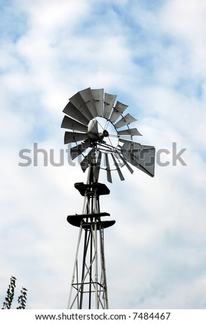 Wind Mill-Ohio - stock photo