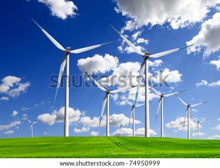 Wind of change - stock photo