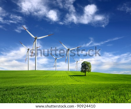 Wind of change - stock photo