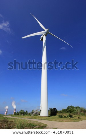 Wind power in the mountains