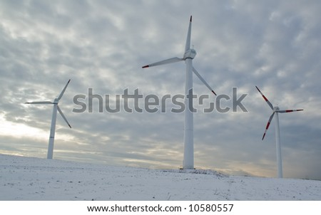 wind-power plant