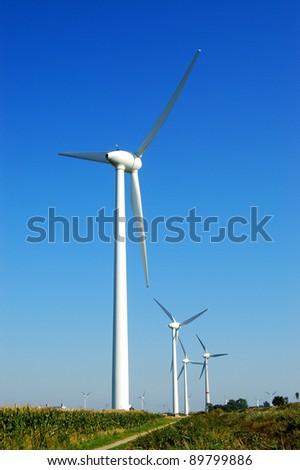 Wind Turbine - stock photo