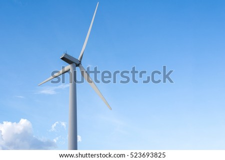 wind turbine for electric power