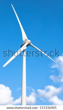 Wind Turbine , Fuel and Power Generation - stock photo