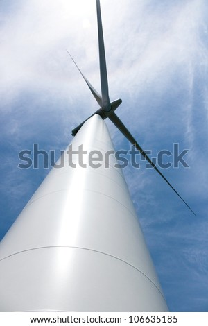 Wind Turbine, Windmill - stock photo
