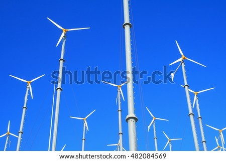 wind turbines clean power
