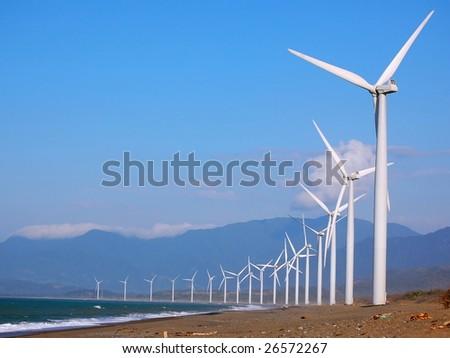 windfarm - stock photo