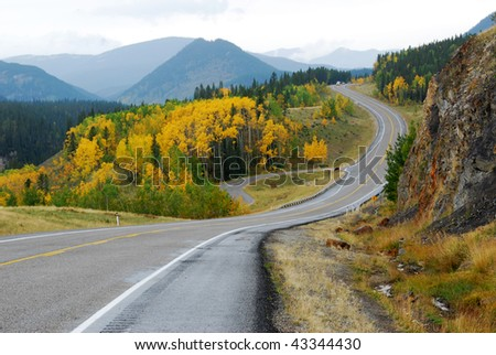 Winding Country Road Drawing Winding Country Road in The