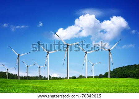 Windland - stock photo