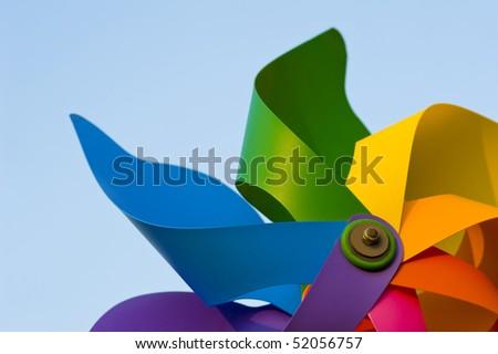 Windmill. - stock photo