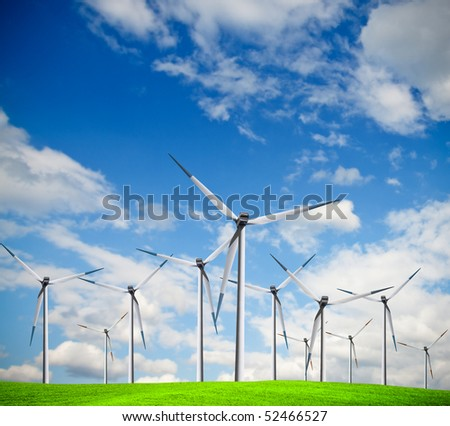 Windmill, alternative energy source