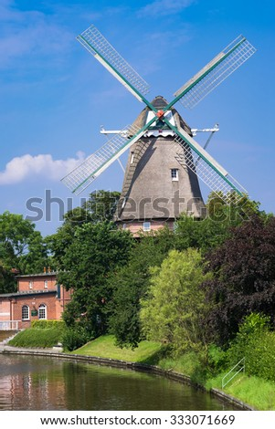 Windmill in Hinte/Germany