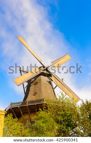Windmill in Potsdam near Berlin