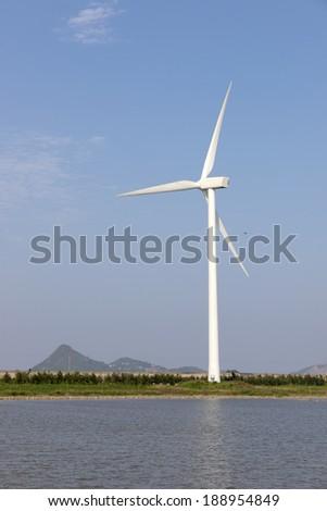Windmill Lakes - stock photo