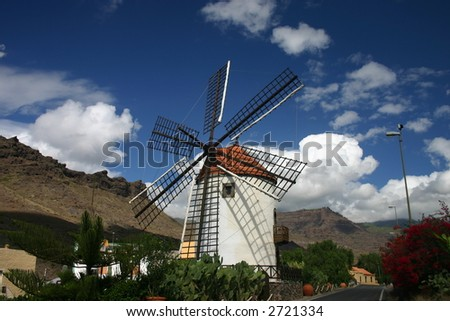 Windmill, Mogan