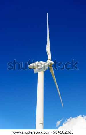 Windmill to produce electricity
