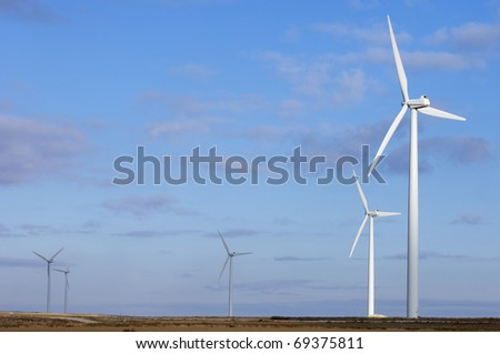 windmills for electric power generation alternative