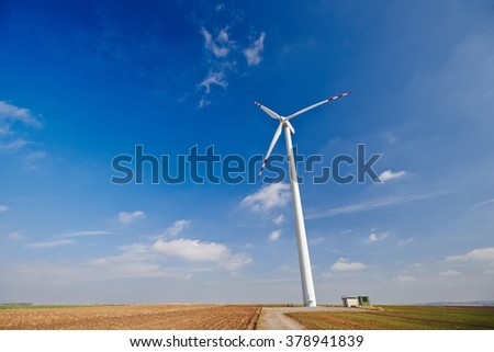 Windmills on the the sky
