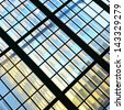 Window - abstract architectural background - stock photo