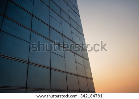 Window building as background texture