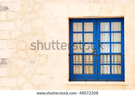 Window, Door, Balcony - stock photo
