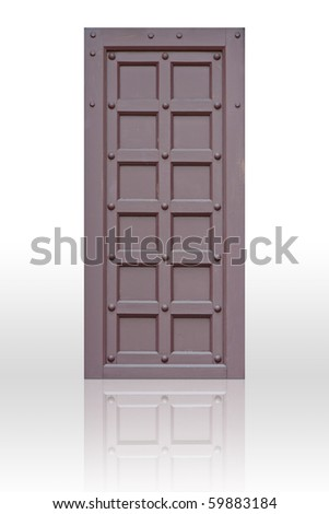 Window (Door)  for decoration - stock photo