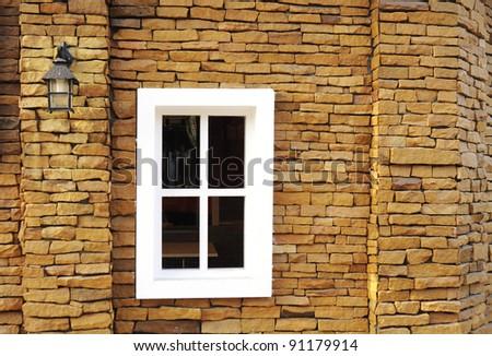 window frames - stock photo