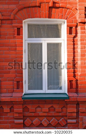window in the brick house