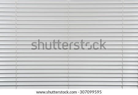 Window jalousie shutter background - stock photo
