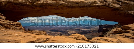 window of Canyonlands
