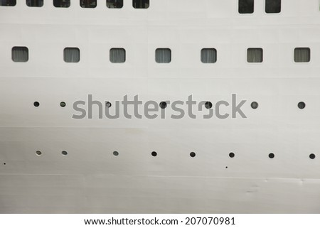 Window Of Cruise Ships