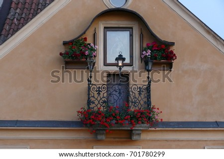 Window of house