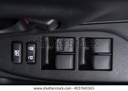 window switches in the car
