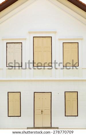 Windows frame - stock photo