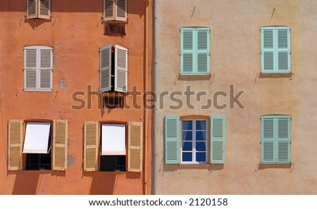 Windows from Saint Tropez