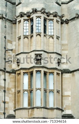 Windows in Windsor Castle, England, Great Britain