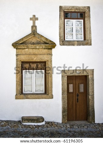 Windows of Marvao, Portugal