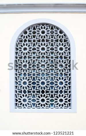... Mosque (Floating Mosque), Georgetown, Penang. Malaysia - stock photo