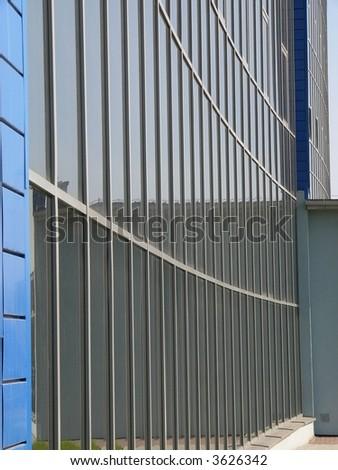 Windows of modern building - stock photo