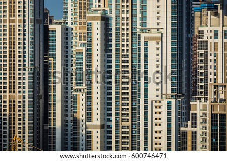 Windows Of Residential And Hotel Buildings At A Densely Populated Area View Out Of Window Stock Images  Royalty Free Vectors