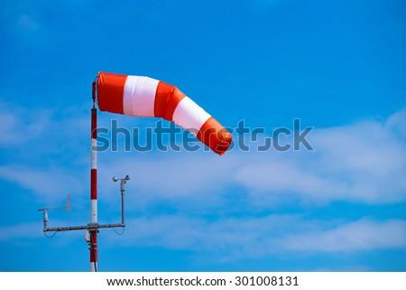 Windsock - stock photo