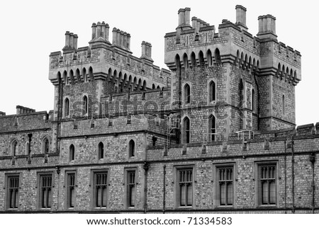 Windsor Castle, England, Great Britain - stock photo