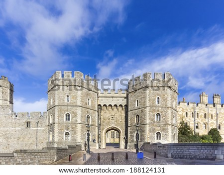 Windsor Castle Front View
