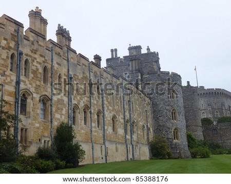 Windsor Castle in England - stock photo