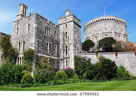 Windsor Castle in Windsor, United Kingdom. - stock photo