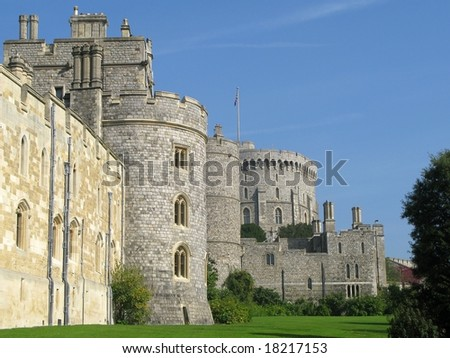 Windsor Castle,London - stock photo