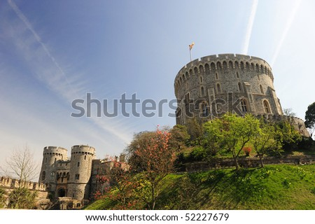 Windsor Castle, UK - stock photo